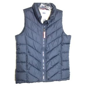 Girls Full Zip Old Navy Puffer Vest